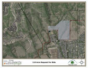 Draper City-Blue Bison 110 acre purchase contract